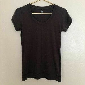 ALO Cool Fit Brown Women's Scoop Neck Size Small